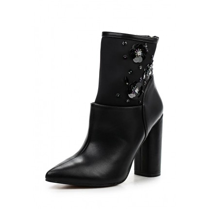 Ботильоны AMELIA SEQUIN BLOCK HEEL ANKLE BOOT LOST INK модель LO019AWLUW26