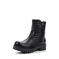Полусапоги ALEX QUILTED BIKER BOOT LOST INK